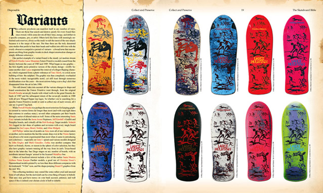 Samples pages from The Disposable Skateboard Bible preview 1