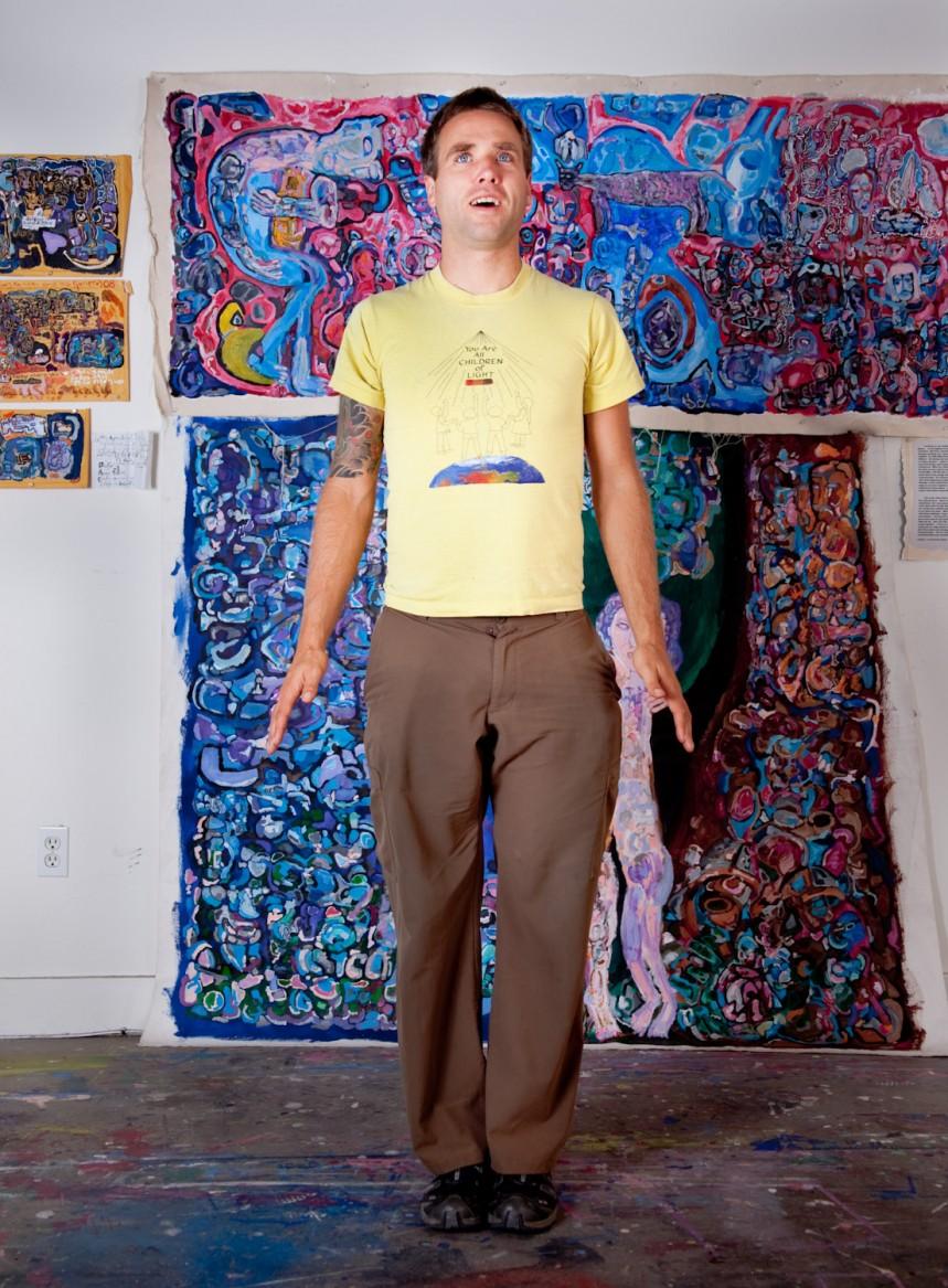 Portrait of Phil Taylor