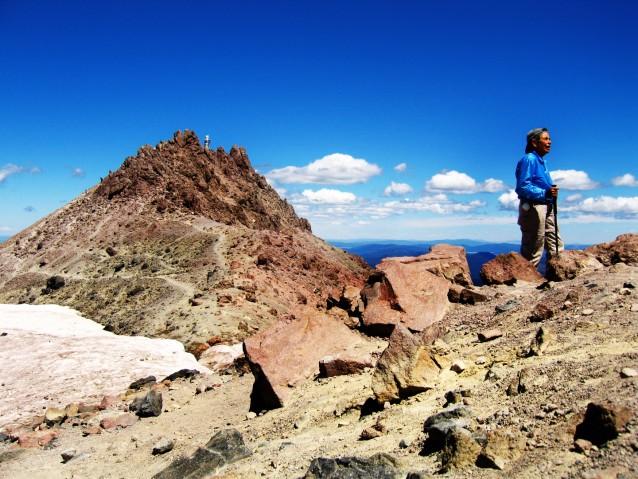 Atop Mount Lassen – Sierra Nevadas, California