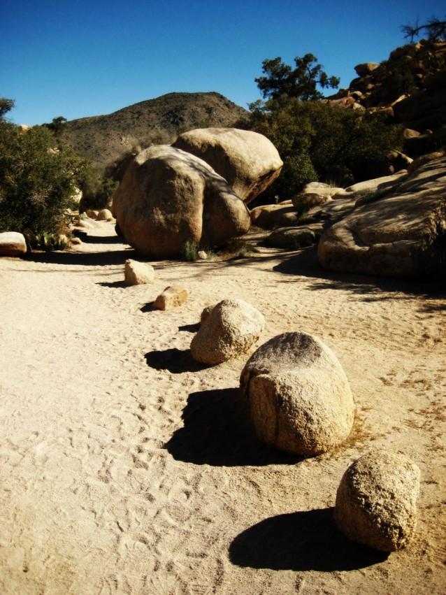Trail stones