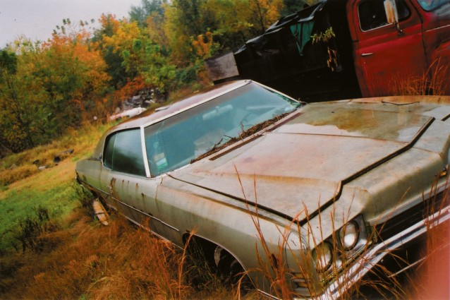 Abandoned car – Henderson, Kentucky