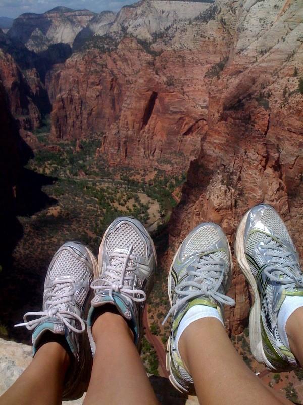 Treacherous - cliff feet