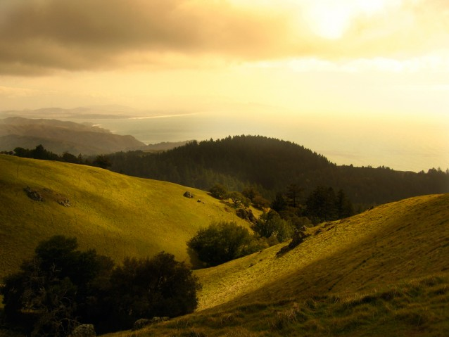 Atop Mount Tam – San Francisco, California