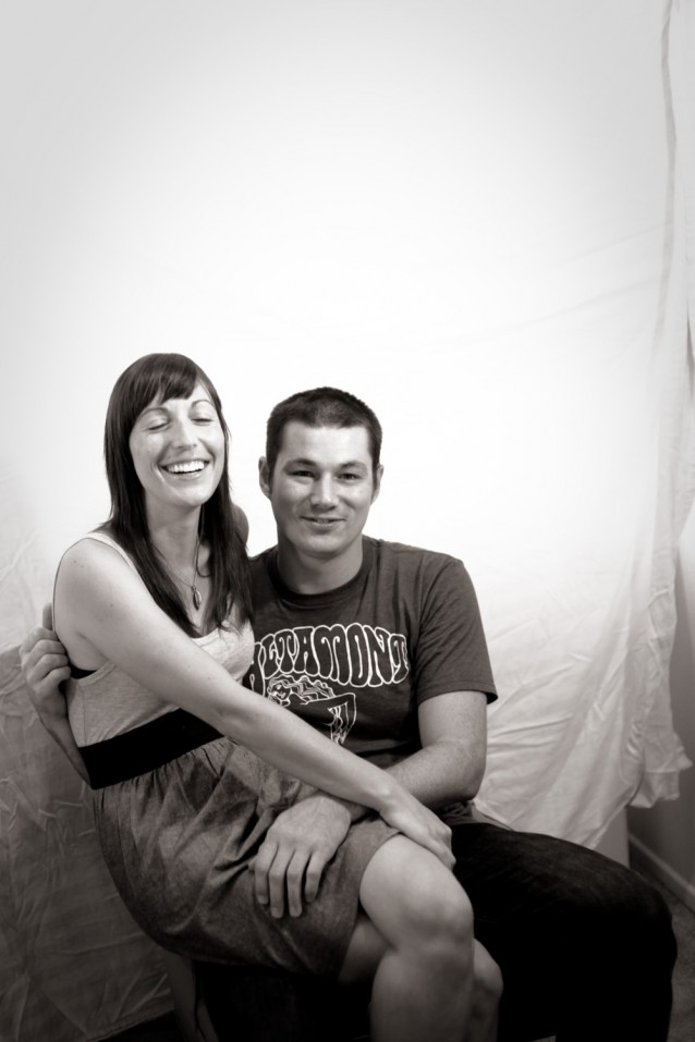 Portrait of Michelle and I Mike