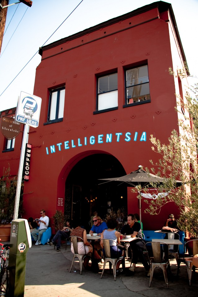Intelligentsia Coffee and tea - old building